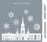 Template For Christmas Postcard ...