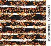 elegant seamless pattern with...   Shutterstock .eps vector #504082369