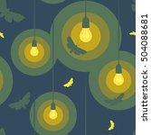 seamless vector pattern of... | Shutterstock .eps vector #504088681