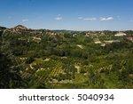 vineyard in langhe roero  italy ... | Shutterstock . vector #5040934