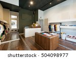 interior of modern urban... | Shutterstock . vector #504098977