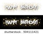 Happy Birthday Paper Banner...