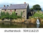 The Old Corn Mill At Annalong...