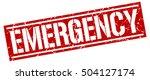 emergency. grunge vintage... | Shutterstock .eps vector #504127174