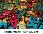 colorful words | Shutterstock . vector #504137125