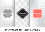 light grey seamless pattern... | Shutterstock .eps vector #504139561