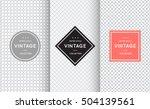 light grey seamless pattern... | Shutterstock .eps vector #504139561