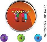 toasting | Shutterstock .eps vector #50416267