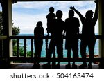 travel of family | Shutterstock . vector #504163474