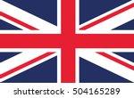 united kingdom flag | Shutterstock .eps vector #504165289