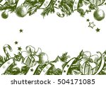 christmas background  christmas ... | Shutterstock .eps vector #504171085
