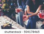 party  holidays  celebration ... | Shutterstock . vector #504178465