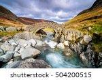 stockley bridge crossing the... | Shutterstock . vector #504200515