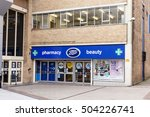 nottingham  england   october... | Shutterstock . vector #504226741