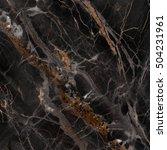 marble texture black background | Shutterstock . vector #504231961