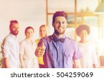 business  startup  people ... | Shutterstock . vector #504259069