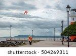 kite salesman in puntarenas... | Shutterstock . vector #504269311