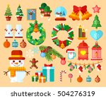 stock vector illustrations set... | Shutterstock .eps vector #504276319