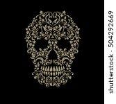 Skull Tattoo Ornament For...