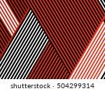 oblique  diagonal lines pattern. | Shutterstock .eps vector #504299314