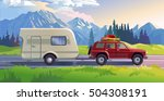vector illustration of a... | Shutterstock .eps vector #504308191