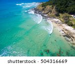 wategoes beach at byron bay... | Shutterstock . vector #504316669