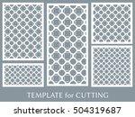 wedding invitation  greeting... | Shutterstock .eps vector #504319687