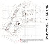 architectural background. part... | Shutterstock .eps vector #504321787