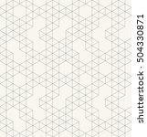 vector seamless pattern. modern ... | Shutterstock .eps vector #504330871