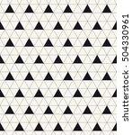 vector seamless pattern. modern ... | Shutterstock .eps vector #504330961