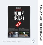 brochure template layout  cover ... | Shutterstock .eps vector #504339481