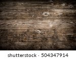 rustic wood planks background | Shutterstock . vector #504347914