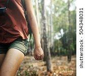 people friendship hangout... | Shutterstock . vector #504348031