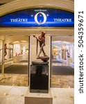 Las Vegas   Oct 04   O Theatre...