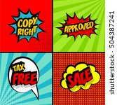 Set Comic Text Collection...