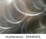 Stainless steel metal abstract - stock photo