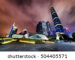 amazing night view of the... | Shutterstock . vector #504405571