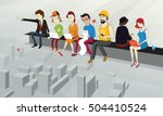 under construction | Shutterstock . vector #504410524