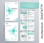 page layout for company profile ... | Shutterstock .eps vector #504476779