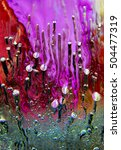 A Colorful Abstract Close Up O...