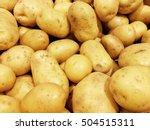 Fresh Organic Potato Stand Out...