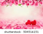 abstract background of... | Shutterstock . vector #504516151