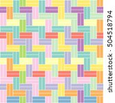 weave seamless pattern. vector... | Shutterstock .eps vector #504518794