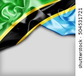 tanzania country flag on white... | Shutterstock . vector #504531721