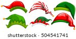different design of party hats... | Shutterstock .eps vector #504541741