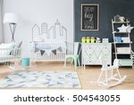 shot of a spacious child's room ... | Shutterstock . vector #504543055