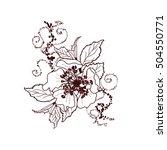 vector illustration of spring... | Shutterstock .eps vector #504550771