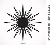 sun icon | Shutterstock .eps vector #504583189