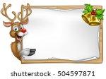 Christmas Reindeer Cartoon...