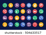roadside services...   Shutterstock .eps vector #504633517